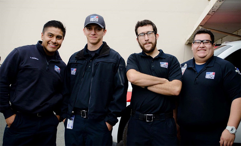 American Ambulance of Visalia Crew